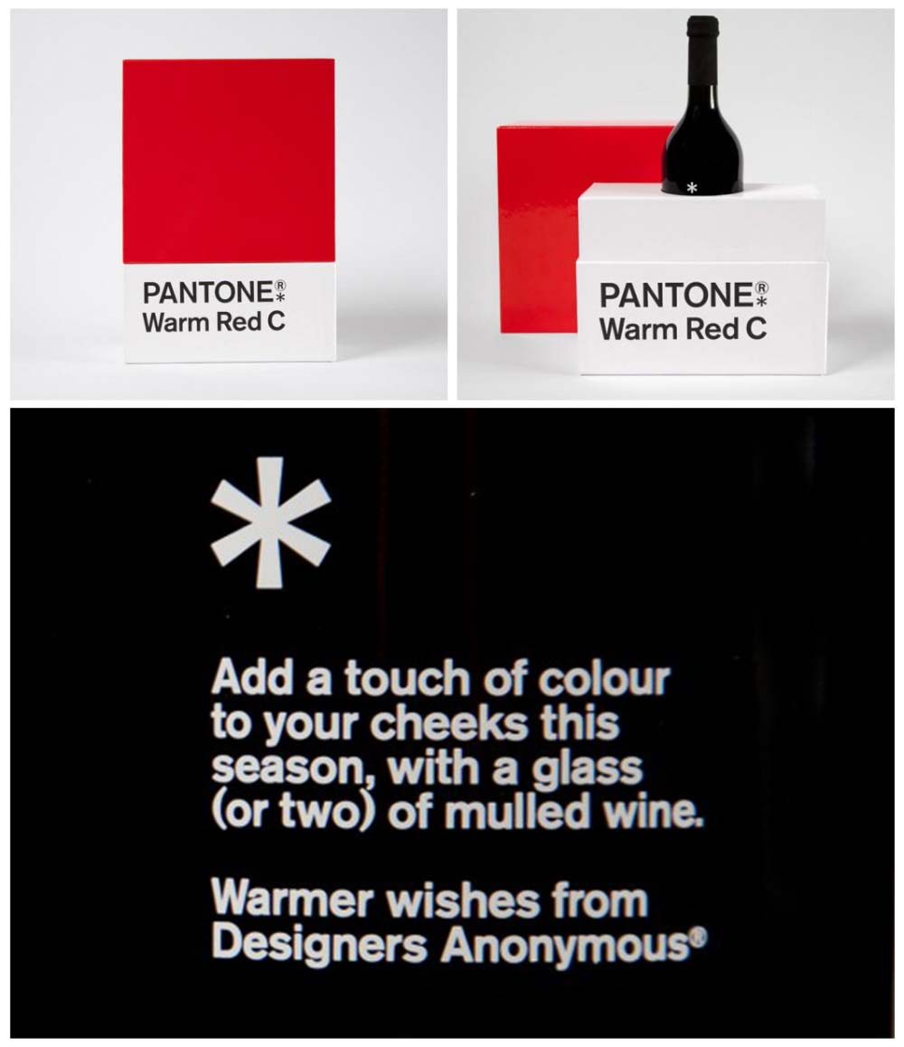 The most festive Pantone® colour – Designers Anonymous