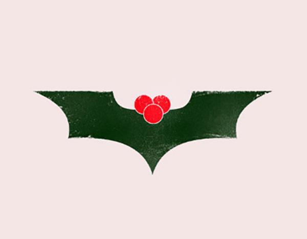 Batman's Christmas card