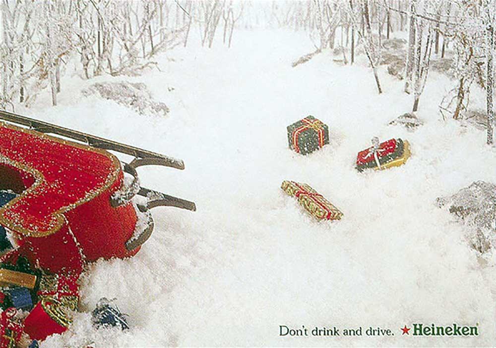 A serious Christmas greeting from Heineken