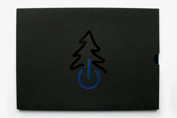 High-tech Christmas tree