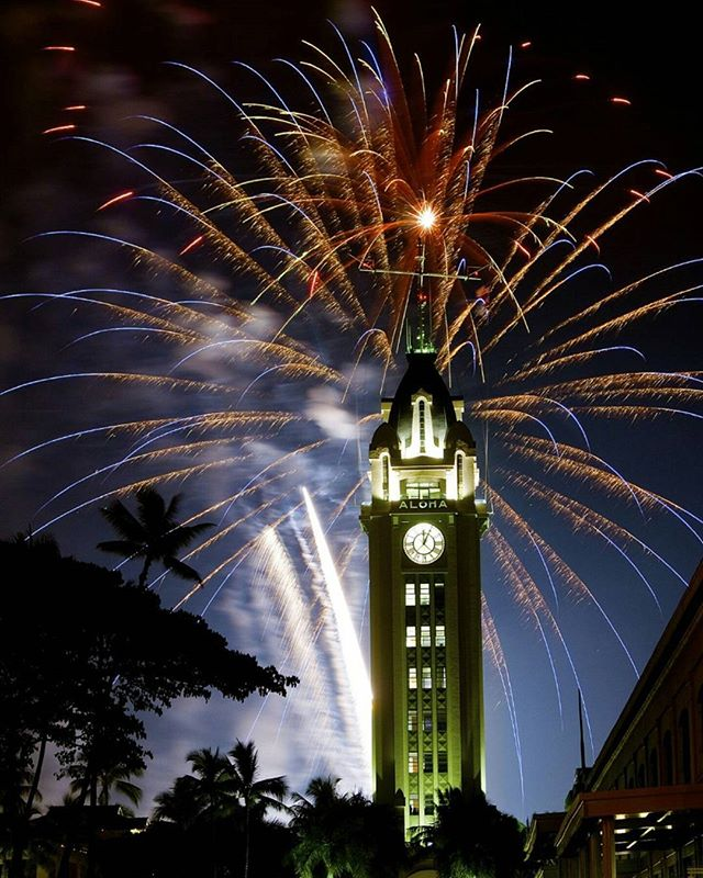 #Wishing You All an #Amazing #NewYear in #2017 & a #Life filled with an #Abundance of All #GoodThings #AlohaTower