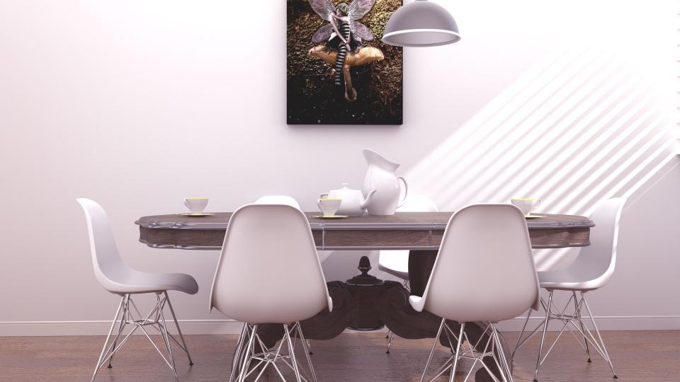El home staging neutraliza espacios haciendo uso del blanco y las líneas sencillas y minimalistas.