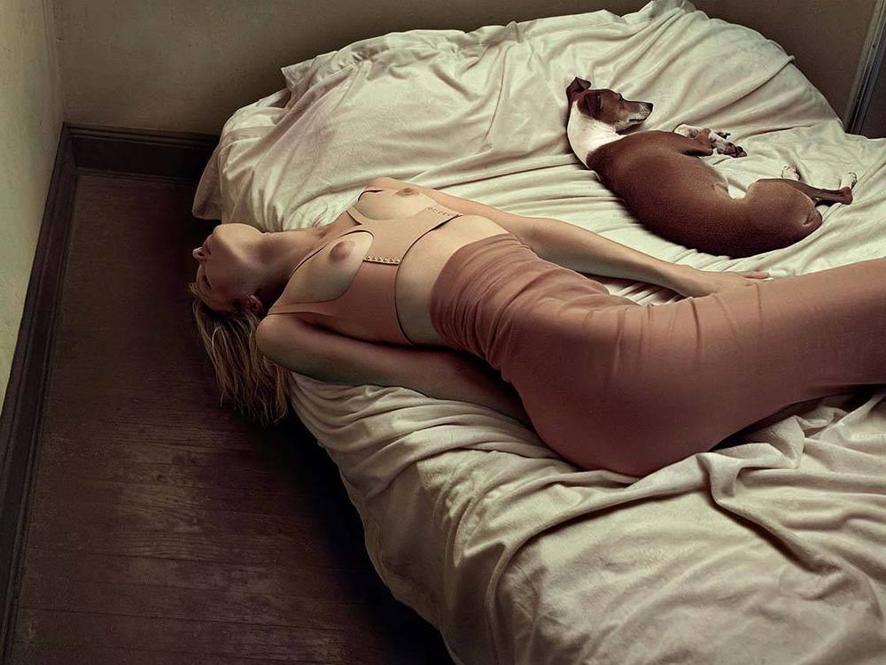 "SKIN Nude Edition in the Editorial ""After Freud"", shot by HUNTER & GATTI for HG Issue N.1"