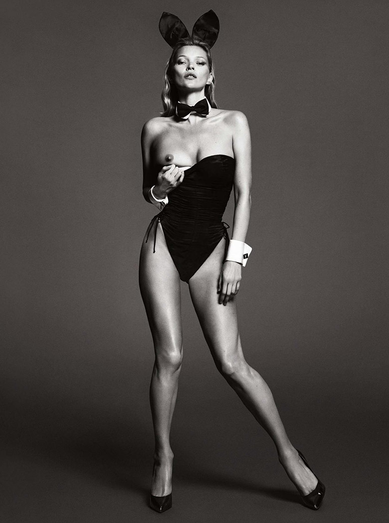 Kate Moss for Playboy's 60th Anniversary.