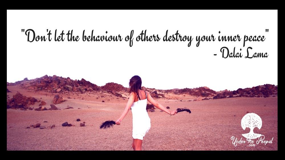 Dali-Lama-Behaviour of others