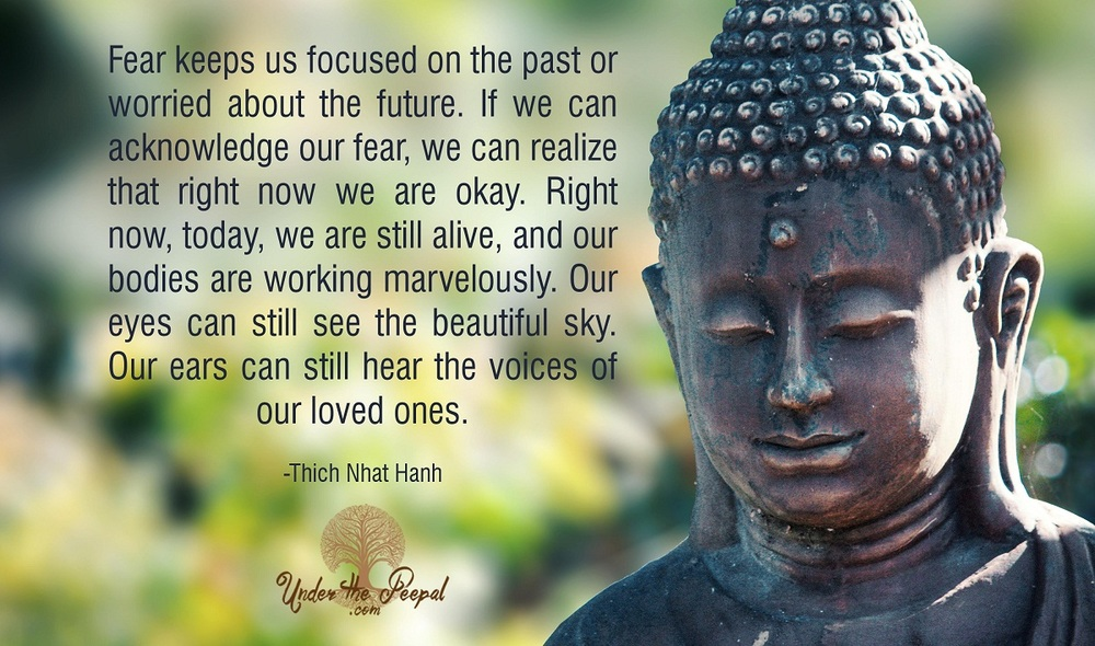 Thich Nath Hanh-Fear-Quote-Spiritual-Motivation-Inspirational