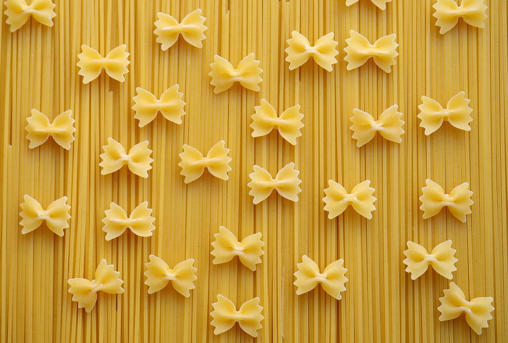 Whole grain pastas are a key ingredient of the Mediterranean diet
