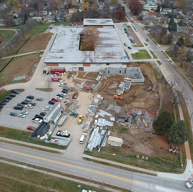Westside District66 - Addition at Westbrook Elementary Under Construction