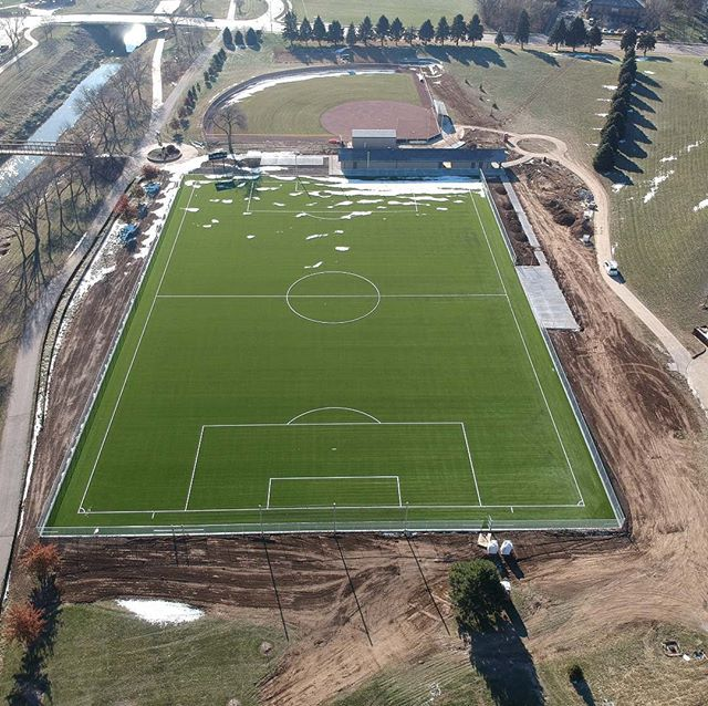 College of Saint Mary - New Soccer Field Installation In Progress  Owners Representatives | Trusted Advisors | Project Management