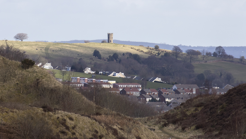 Folly from Blaensychan 26th March.jpg