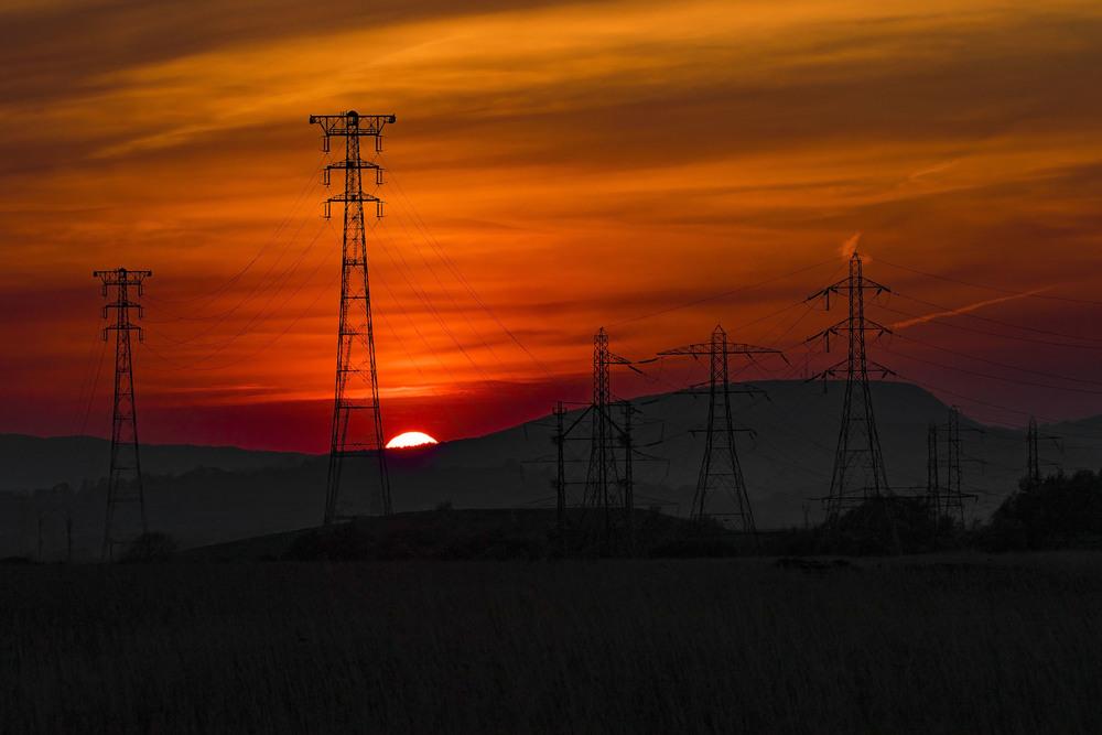 Newport Wetland Sunset