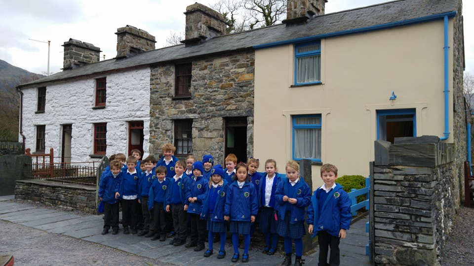 Visit to the National Slate Museum in Llanberis