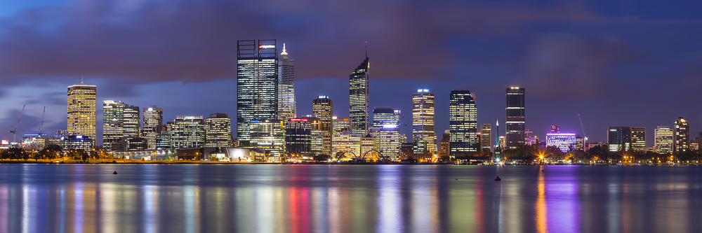 Beautiful Perth Cityscape [Image courtesy and   © Rodney Topor   ]