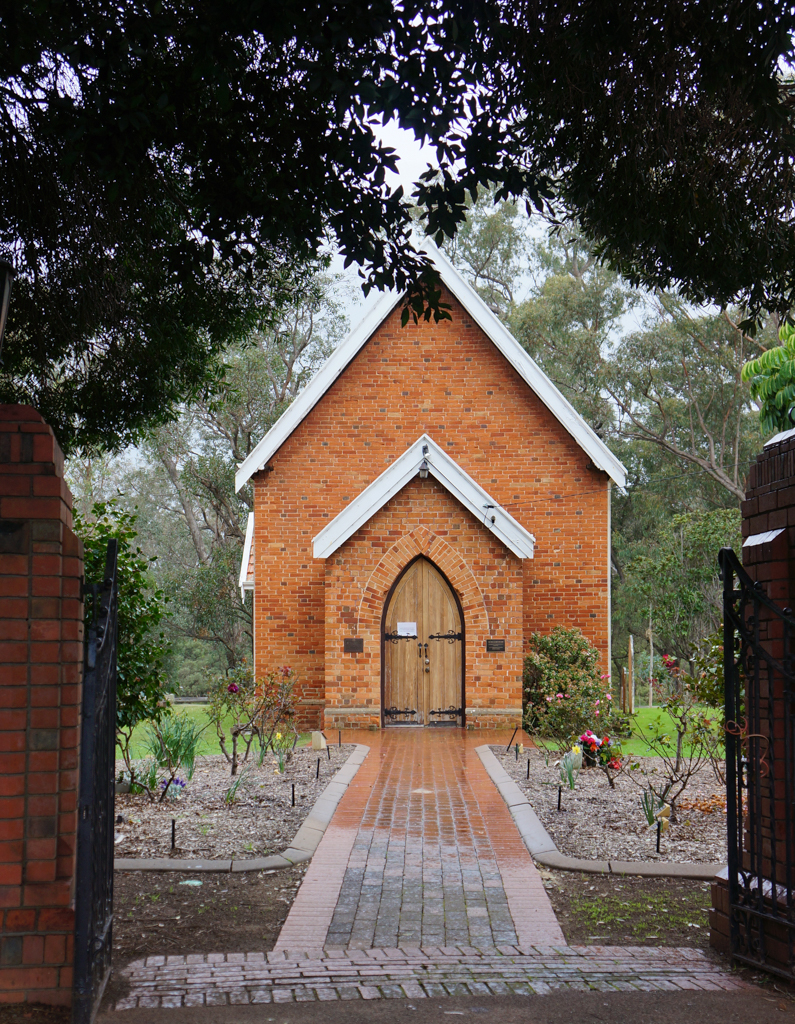 St John's Anglican Church, erected 1860