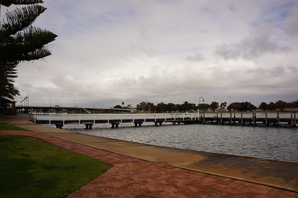 Peel Inlet and Old Mandurah Bridge