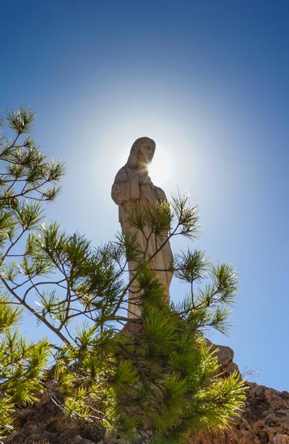 Chapel of the Virgin of the Rock, Mijas, Spain