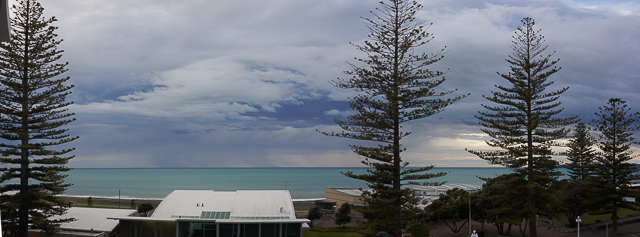 Storm over Hawke's Bay