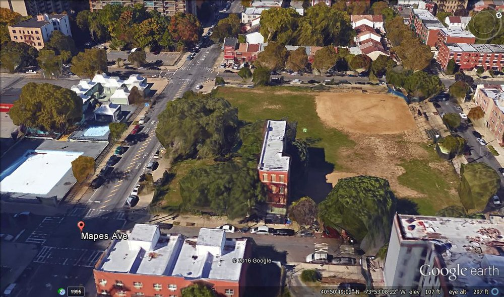 Future site of the Astin Jacobo Center in Crotona.