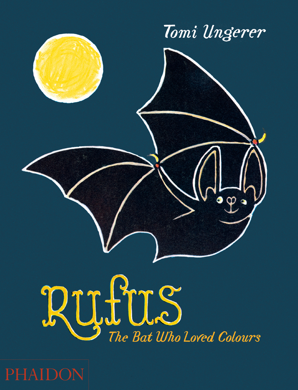 Rufus, The Bat Who Loved Colours by Tomi Ungerer ( Phaidon )   We are huge fans of Tomi Ungerer and his books always feature on our Santa's list. This one, first published in 1961 but re-issued this year, tells the story of a bat who decides to stay up all day and discover what colours the world is made of. A gem.  Get yours  here .