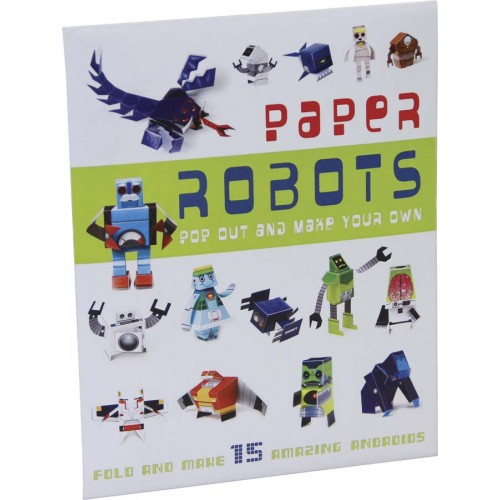 PAPER ROBOTS - £10 - THE KID WHO.    Uber cool paper robots for all future-loving kiddos.   Buy it here.