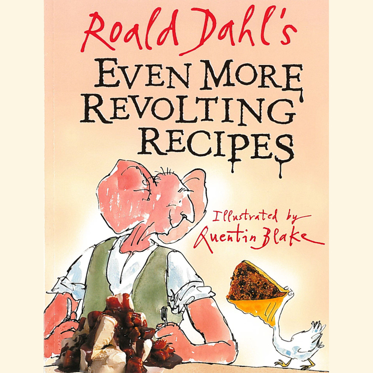 COOK revolting recipes inspired by some of the greatest books ever written, by our hero Roald Dahl. Available from Roald Dahl's shop.