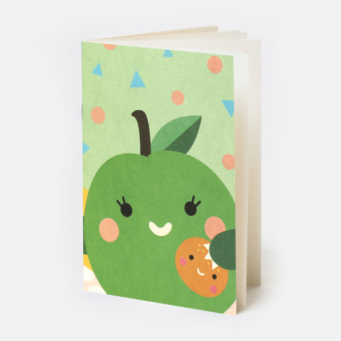 WRITE your daily summer adventures in this lovely notebook by Noodoll.