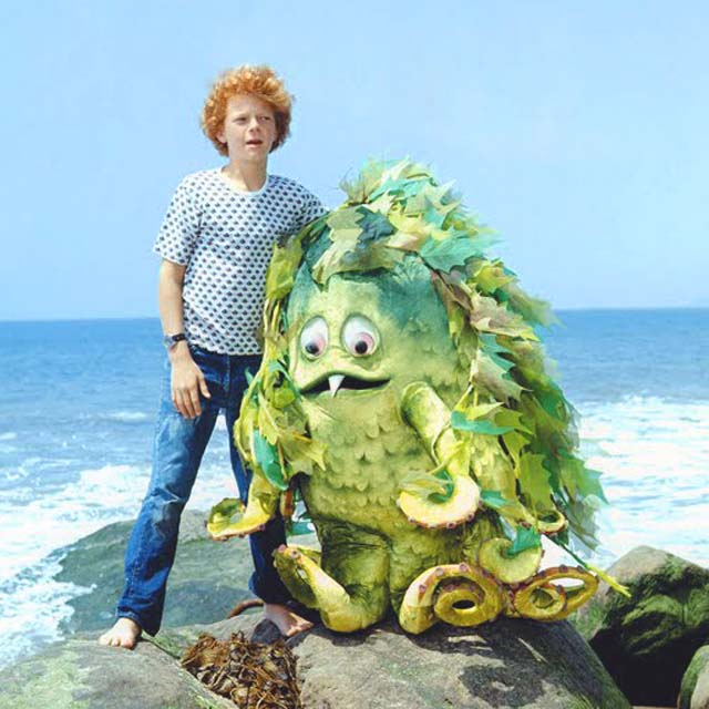 SIGMUND  If I was allowed to invite a sea monster over for tea, I'd choose  Sigmund ! He was friendly, goofy, tentacled and starred in Sigmund and the Sea Monsters (1973–1975), produced by the clever Krofft brothers.   Fun fact: Sigmund and the Sea Monsters might be making a comeback!  Click  here  for more info.