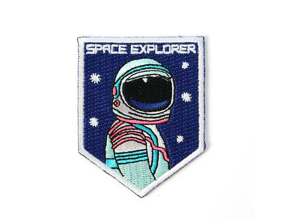 Mokuyobi -  3,2,1 Launch off! This patch is for the explorers of the world. Whatever adventure you are going on next be sure to take the space explorer patch with you. @mokuyobithreads