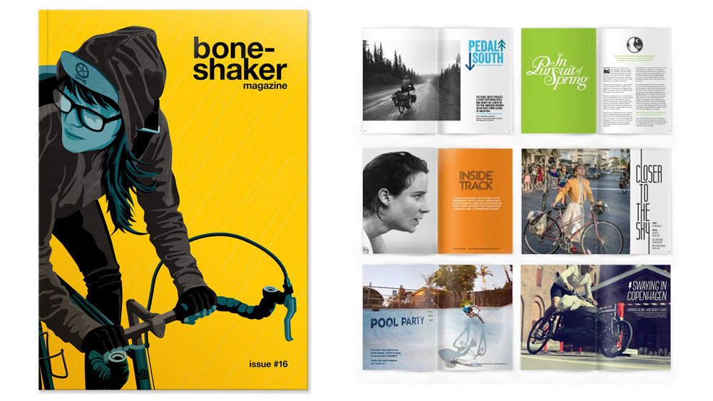 Boneshaker Magazine. A sideways look at cycling for bicycle lovers of all stripes, full of the passion, poetry and politics of life on two wheels.