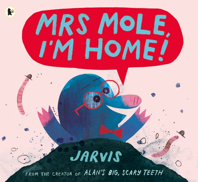 Disaster: Morris Mole has lost his glasses! Ever the optimist, he decides that he can do without them and ends up burrowing his way to some rather incongruous places! This is one FUN picture book from the Master of Fun Picture Books himself, Jarvis (also author of Alan's Big Scary Teeth.)