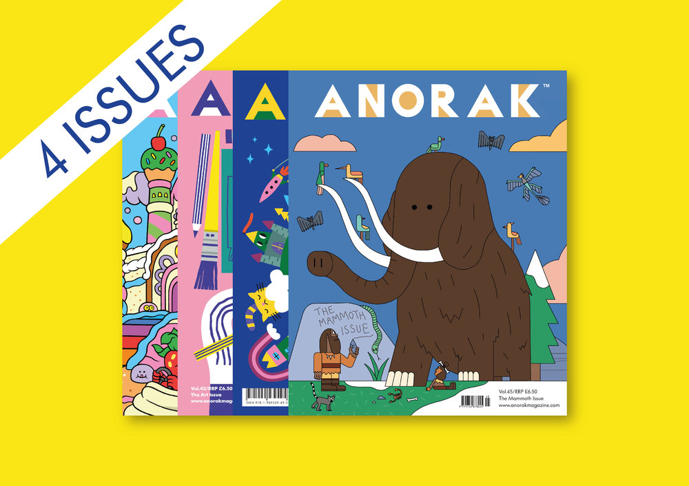 Anorak One Year Subscription