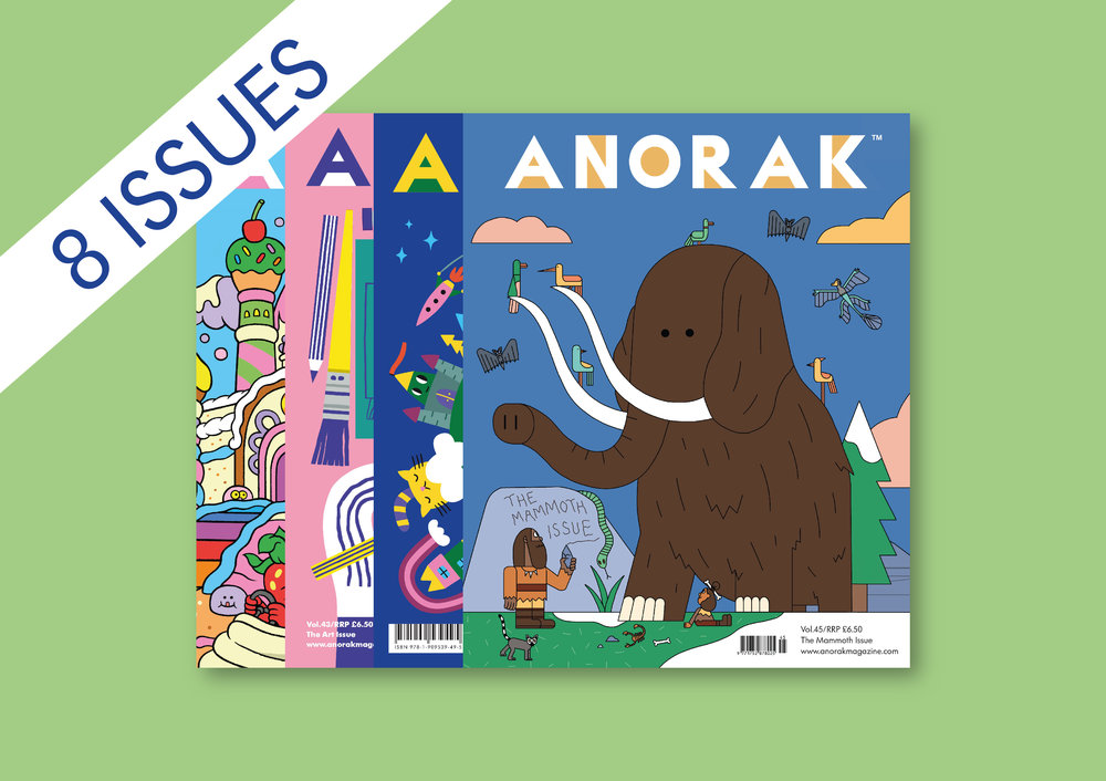 Anorak Two Year Subscription
