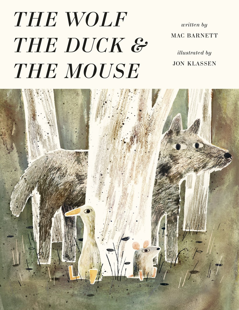 What happens when a sad mouse gets gobbled up by a wolf? Find out in this  lovely book  by two of our favourites Mac Barnett and Jon Klassen,