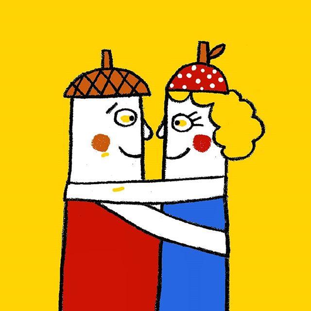 ¿Has conocido ya al señor y la señora Maderitas? ¡Los grandes amigos de Dot viven una aventura ilustrada por @inma_lorente_illustration en un nuevo número que ya está a la venta!  Yeiii!! #holadot #loscolores #dot2 #dotenespañol #ilustracion #revistaparaniños #creatividad #infantil #kids