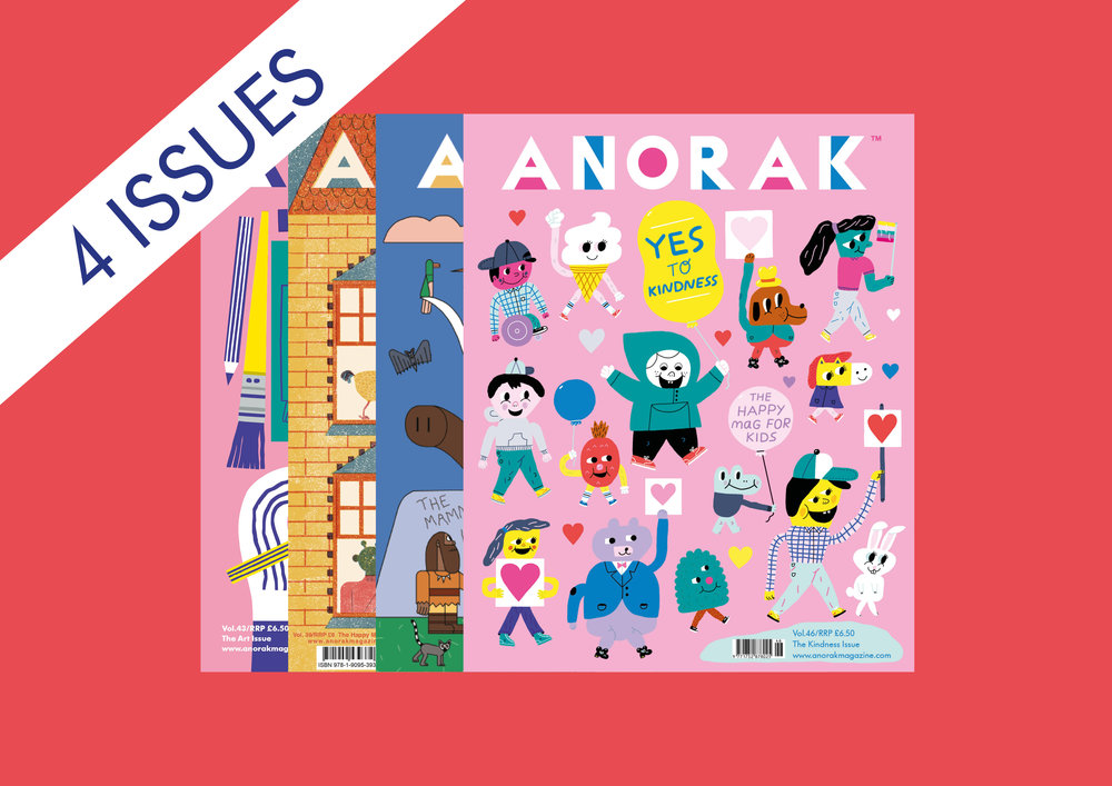ANORAK 1-YEAR SUBSCRIPTION
