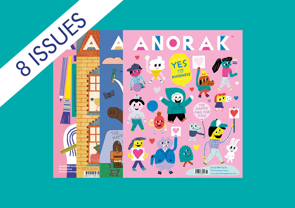 Anorak 2-year subscription