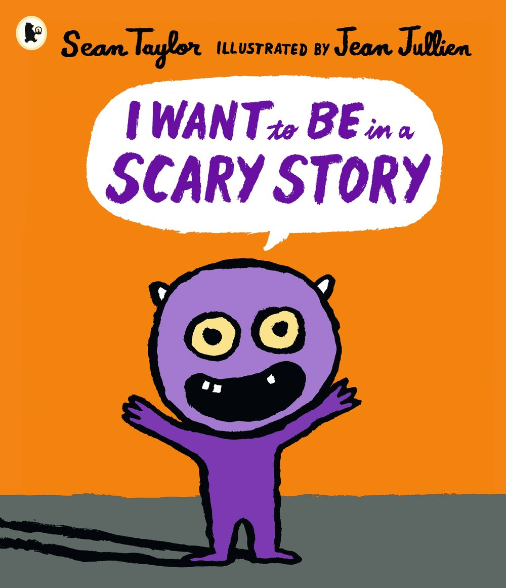 Monster so wants to be scary but is he brave enough to face wicked witches and creepy stairs? Beautifully told by Sean Taylor and illustrated by Jean Jullien, follow Monster in his adventure to become a fully-fledged scary monster.