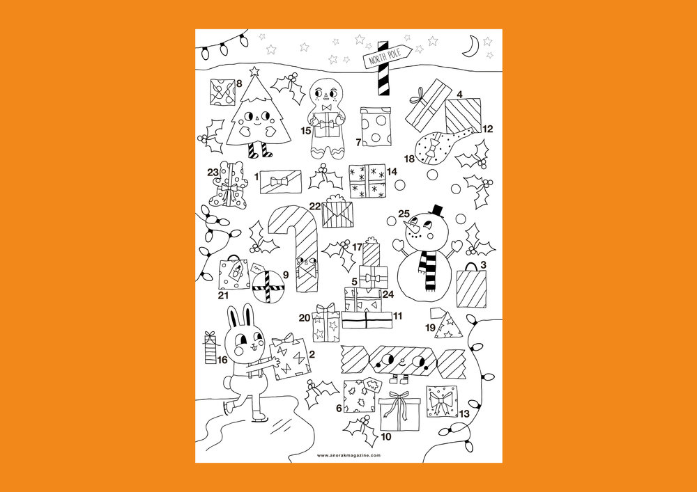 DOT Colouring poster