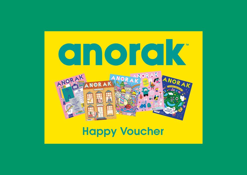 Anorak Happy Voucher