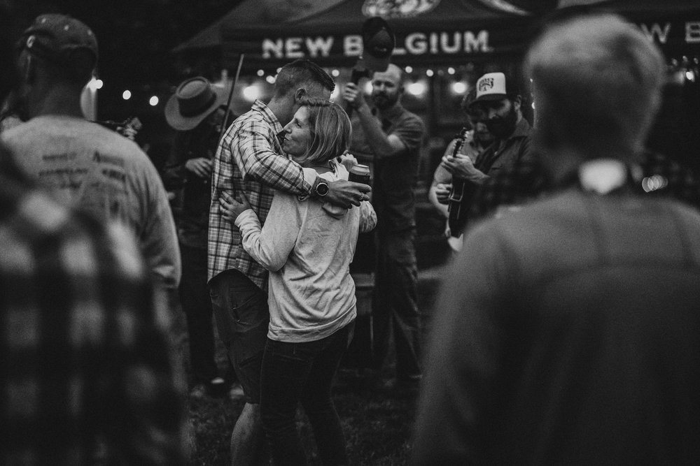Dance like no one is watching. Dance with your love like it might be the last. By dancing you give everyone else permission to dance and love. Image was captured by Michael Nyffeler