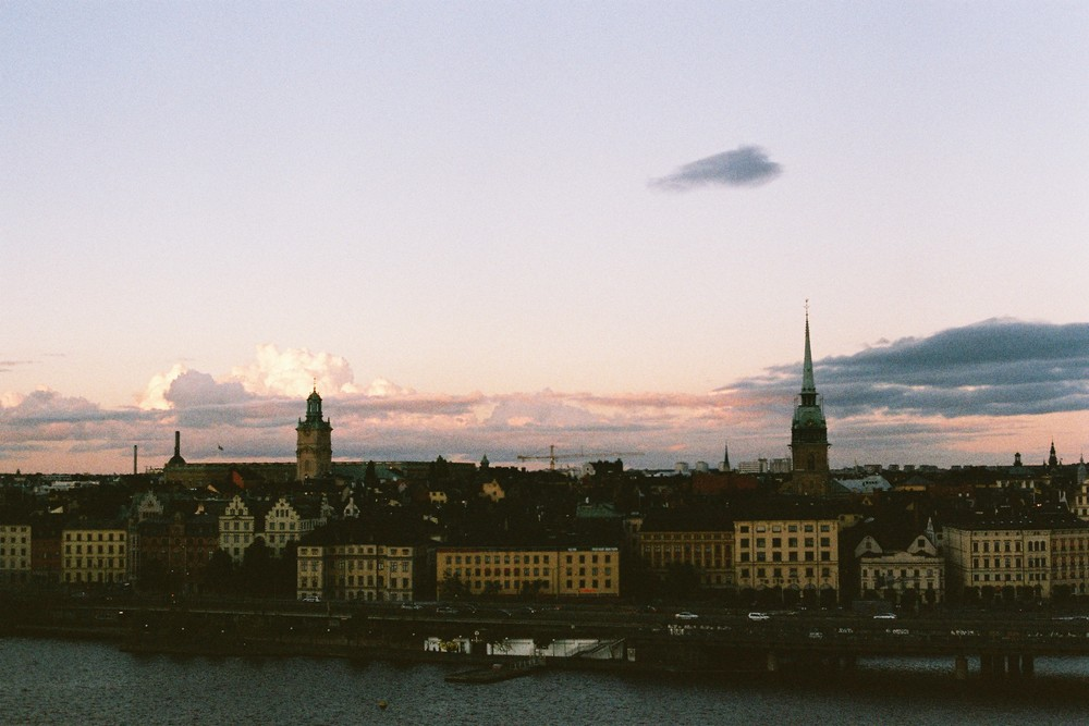 The view from a hidden trail somewhere in Sodermalm? Gamla stan? Can't even remember...