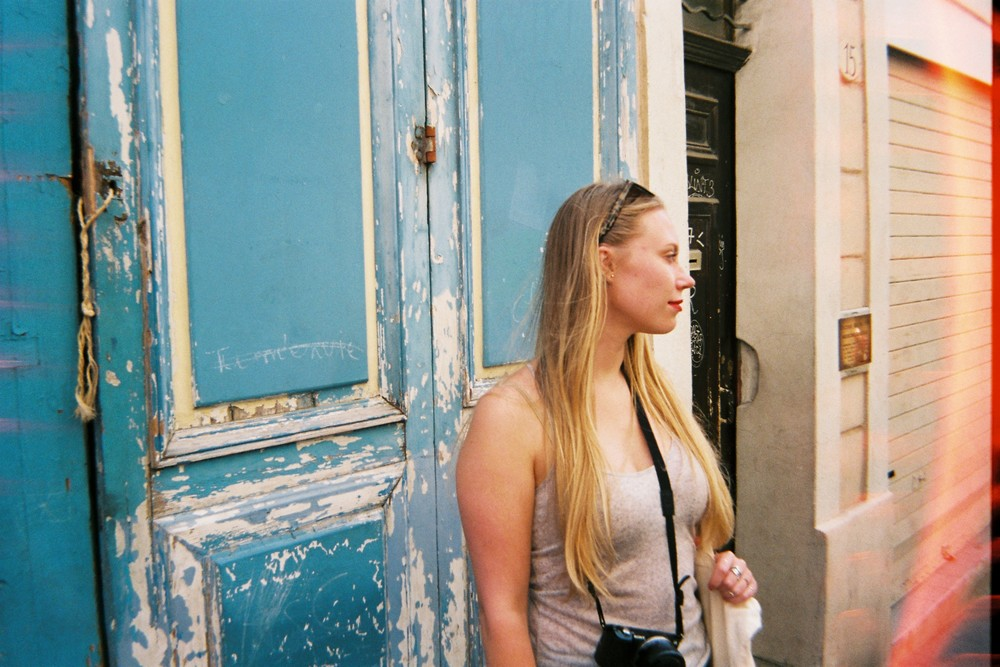 More of Natalie and the streets of Aix.
