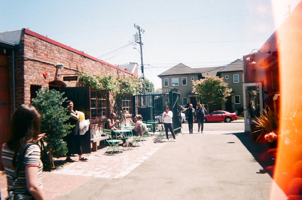 "Temescal Alley out in Oakland, ""embarrassingly trendy."""