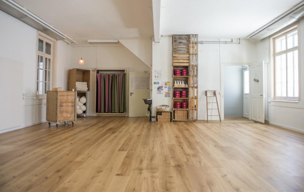 Hauptraum Eingang – Das Yoga Haus – 8004 Zürich
