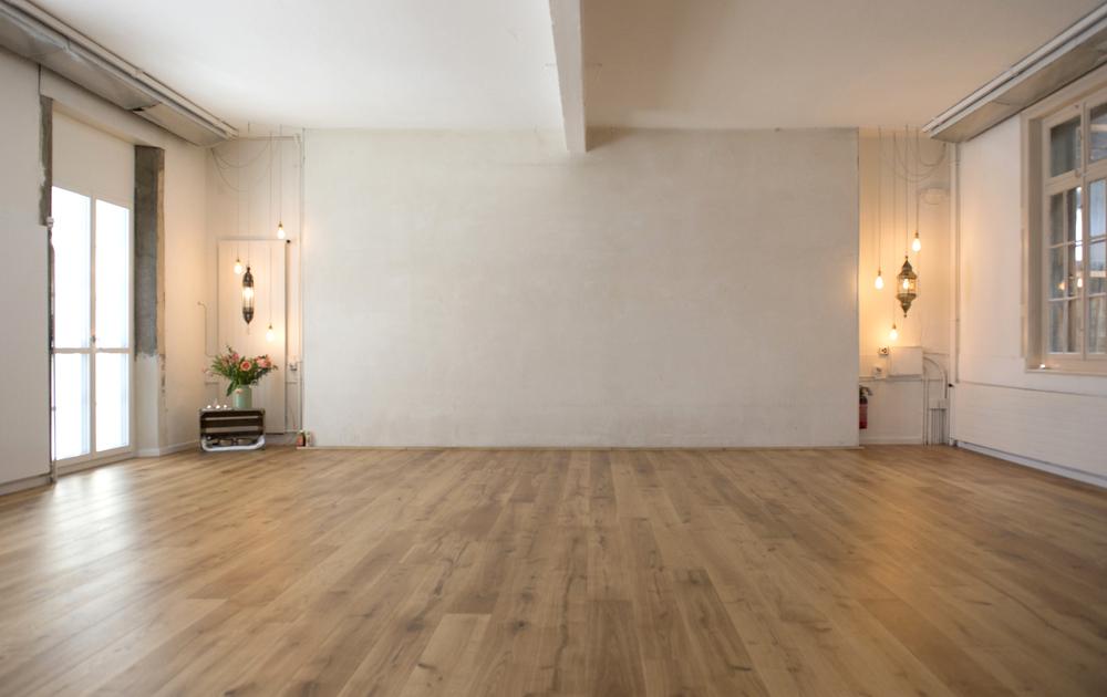 Yogaraum Vermietung – Hauptraum, 80qm – Wiedikon – Das Yoga Haus – 8004 Zürich