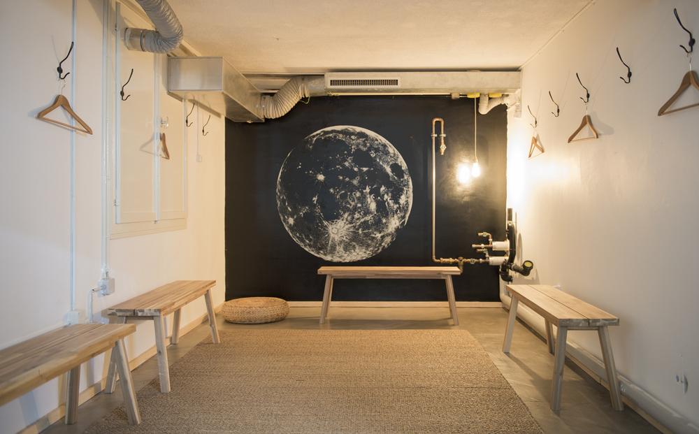 Garderobe – Das Yoga Haus – 8004 Zürich