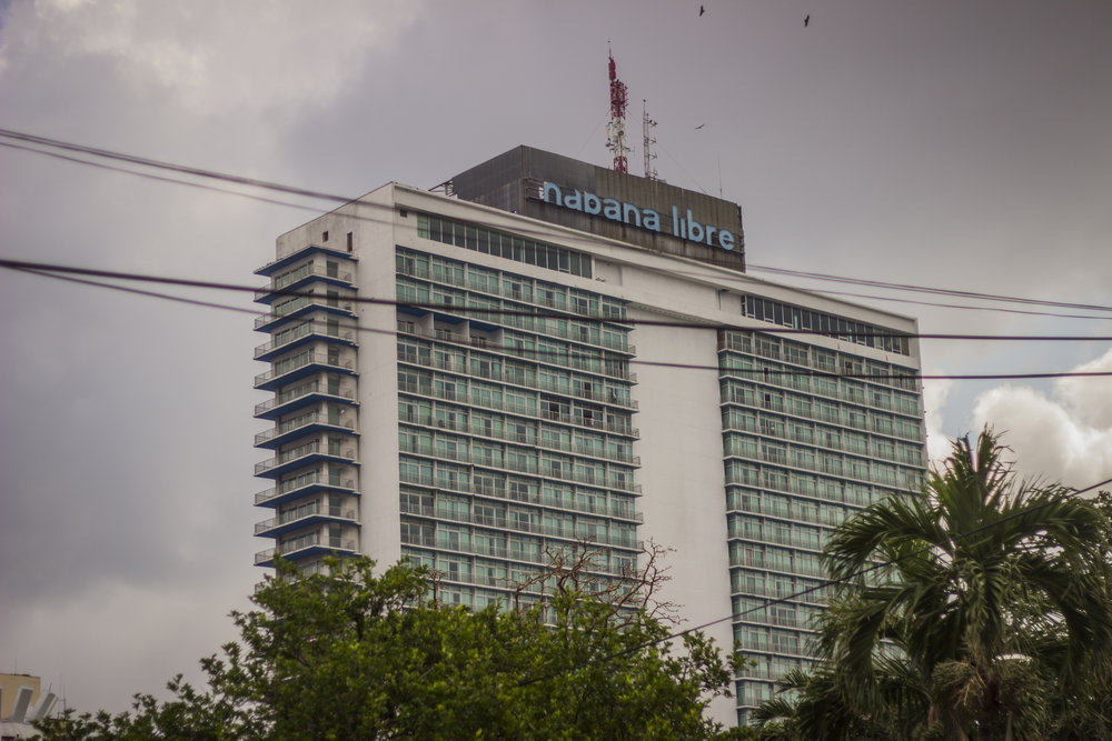 """""""Latin America's tallest, largest hotel,"""" read a Hilton ad in 1958,just eight months before Castro's revolution."""