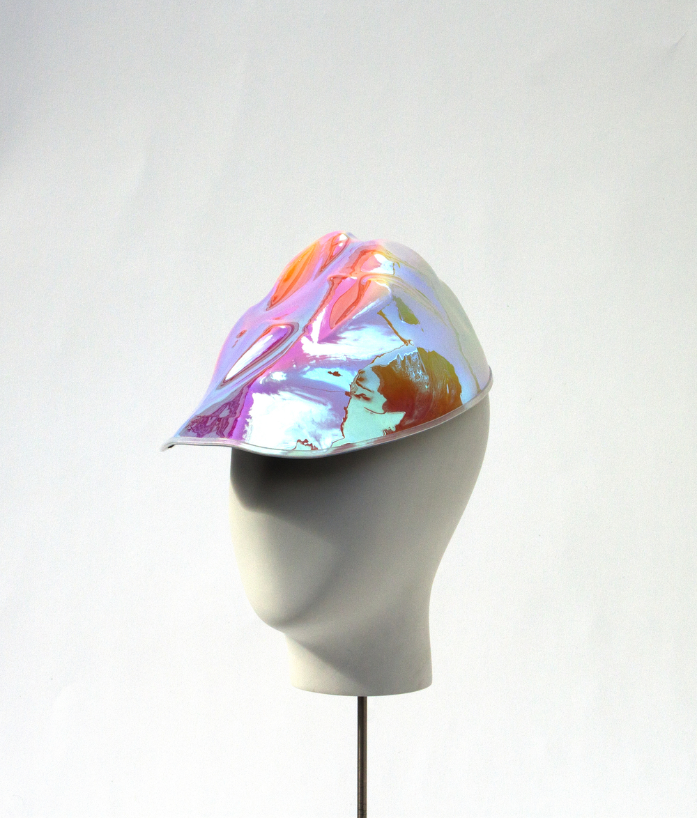 Iridescent Formed Cap