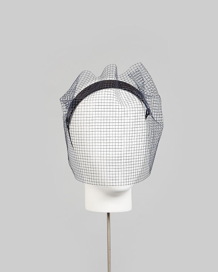 Perspex Veil Headband