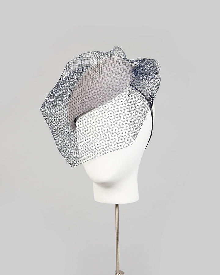 Veiled Headband Beret
